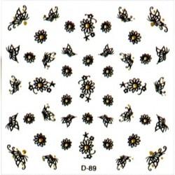 Naklejki na paznokcie  3D DA-12/3
