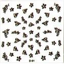 Naklejki na paznokcie 3D DA-12/5
