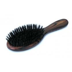 Szczotka do włosów z naturalnym włosiem