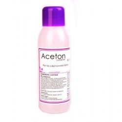 Aceton do usuwania hybryd 100ml
