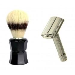 Pędzel do golenia + maszynka