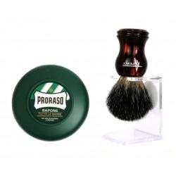 Zestaw do golenia tradycyjnego z pędzlem