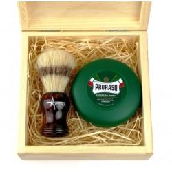 Zestaw do golenia tradycyjnego z mydłem