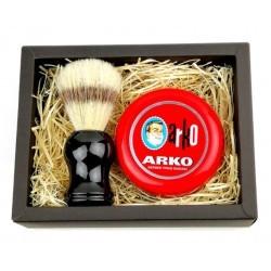 Zestaw do golenia - pędzel i mydło