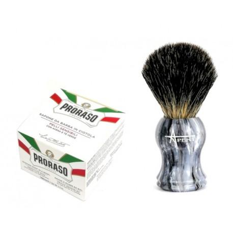 Pędzel do golenia z borsuka i mydło Proraso 150 ml