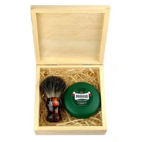 Zestaw do golenia tradycyjnego z mydłem EKO
